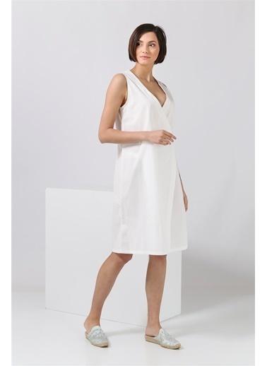 Parthenis Elbise Beyaz